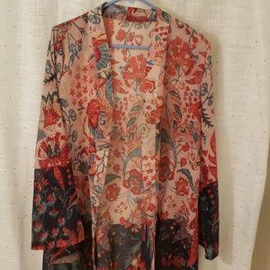 Tops - Sheer Kimono/Cover up NWOT